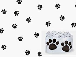 paw print tissue paper paw print bulk tissue paper 15x20 50 sheets health