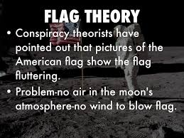 Flag On The Moon Conspiracy Moon Landing A Hoax By Nathaniel Skeese