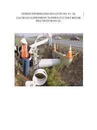 dbi83 04 caltrans cmp culvert repair practices manual corrosion