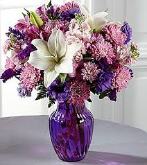 Shades Of Purple The Ftd Shades Of Purple Bouquet