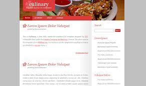 free dreamweaver restaurant templates css menumaker
