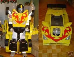 Coolest Transforming Bumblebee Transformer Costume Transformer Beautiful Transformer Halloween Costume Photos Amazing Design