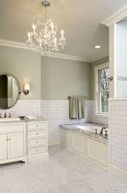 Bush Bathtub Painting Suzie Hendel Homes Gorgeous Green Bathroom With Sage Paint