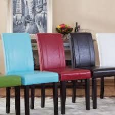 Leather Parson Dining Chairs Furniture Best Parson Dining Chairs For Dining Room Furniture