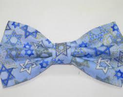 hanukkah ties bow tie etsy