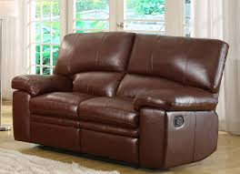 Chair And A Half Recliner Homelegance Kendrick Reclining Sofa Set Brown Bonded Leather