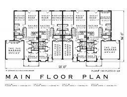 townhouse plan 2 bedroom townhouse house plan th130 21 24 1200 sq feet