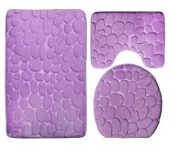 5 Piece Bathroom Rug Set by Online Get Cheap Bathroom Rugs Purple Aliexpress Com Alibaba Group
