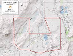 Sheridan Wyoming Map Spring Creek Ranch U2022 Mirr Ranch Group
