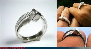 blogger bride alternative and geeky ideas for wedding rings