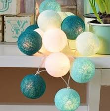 Christmas Decorative Led Lights by Aliexpress Com Buy 20bulb Set Cotton Balls Christmas Decorative