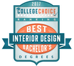 Undergraduate Interior Design Programs 50 Best Bachelor U0027s In Interior Design Degrees For 2017