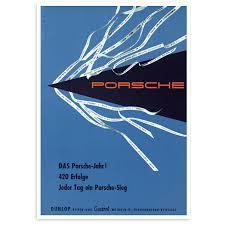 porsche poster vintage porsche year u2013 renard speed shop
