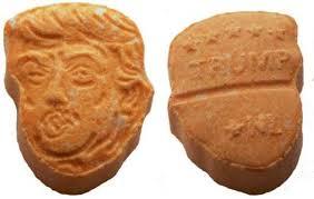 Shade Of Orange Names Germany U0027s Orange Ecstasy Pills Have Trump U0027s Name U2014 And Face U2014 All