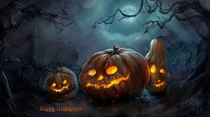 quirky halloween background wallpapers terrifyingly scary halloween pumpkins scary halloween 2012 hd