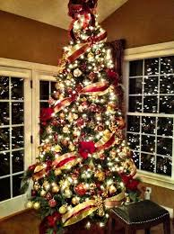 Ideas For Christmas Tree Decorating Themes Elegant Merry Xmas And A
