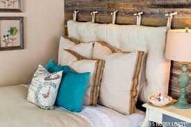 Headboard With Slipcover These Pre Made Pillow Covers Will Accentuate Your Shabby Chic