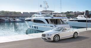 bentley monaco the monaco yacht show car deck is back on track عودة السيارات