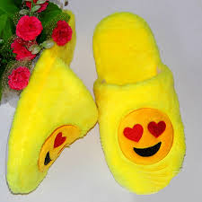 indoor warm emoji slippers cute house slippers smiley emoticon