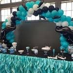 mustache themed baby shower baby shower balloons at it s my party