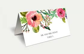 instant diy printable place cards wedding place cards
