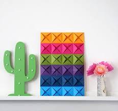 cara membuat instagram renhard contoh gambar hiasan dinding kamar dari kertas origami diy