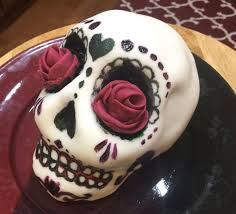 skull cake topper cake decorating sugar skull