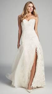 gowns wedding dresses 33 wedding dresses with a slit weddingomania
