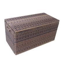 furniture dbw7300 mocha wicker suncast deck box ideas for storage