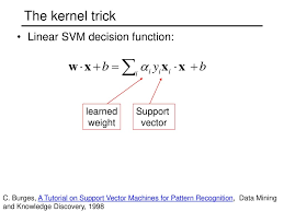tutorial vector c neural networks and support vector machines ppt download