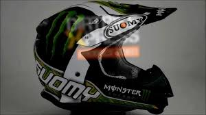 monster energy motocross helmet suomy mr jump monster matt 360 video youtube
