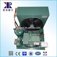 condensation chambre 3hp semi hermétique compresseur de réfrigération unité de