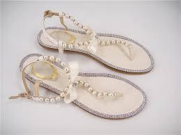 Rhinestone Flat Sandals Wedding Search On Aliexpress Com By Image