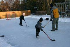 Backyard Hockey Download Broomball Game Royalty Free Stock Photo Image 8185245