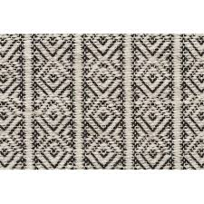 Hand Loomed Rug Bryant Natural U0026 Black Hand Loomed Rug Temple U0026 Webster