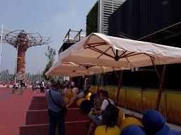 Large Tilting Patio Umbrella by Outdoor Big Porch Umbrella Industrial Umbrella Stand Tilt