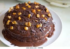 chocolate fudge cake stock photos u0026 chocolate fudge cake stock