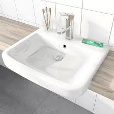 mode carter semi recessed basin 550mm victoriaplum com