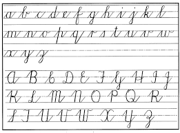 zaner bloser writing paper printable show me the cursive alphabet boxfirepress