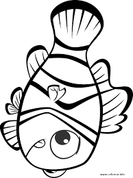 es nemo cs6 finding nemo printable coloring pages kids
