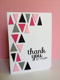 Design Greetings Cards 224 Best Thank You Cards Images On Pinterest Handmade