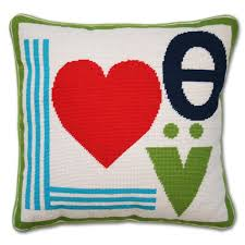 mod needlepoint throw pillow modern holding category for