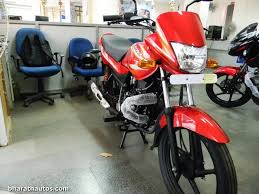 platina new model new bajaj platina 100 es busted at a dealership