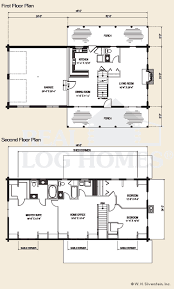 Ranch Style Log Home Floor Plans The Livermore Log Home Floor Plans Nh Custom Log Homes Gooch