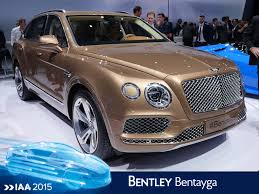 bentley bentayga 2015 bentley bentayga en direct du salon de francfort 2015 youtube