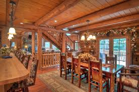 rustic dining room with chandelier u0026 french doors zillow digs