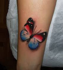 white and blue butterfly design ideas