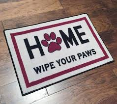 Wipe Your Paws Coir Doormat Home Wipe Your Paws Welcome Mat Floormatshop Com Commercial