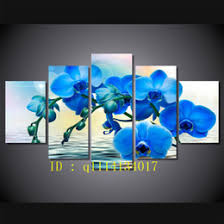 blue orchids for sale framed painting canvas orchid online framed painting