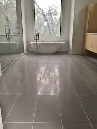 12x24 porcelain tile on master bathroom floor tile we ve